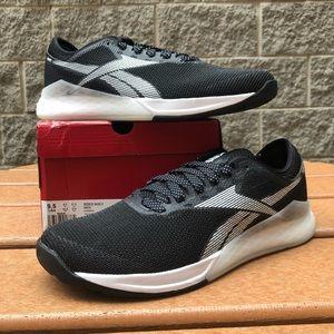 Men's Reebok Nano 9 sz 9.5 brand new Black/White